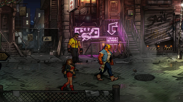 Скриншот №6 к Streets of Rage 4
