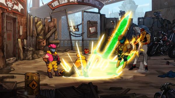 Скриншот №3 к Streets of Rage 4