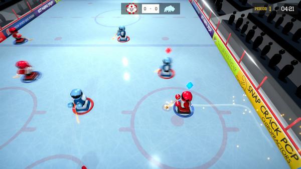3 on 3 Super Robot Hockey screenshot