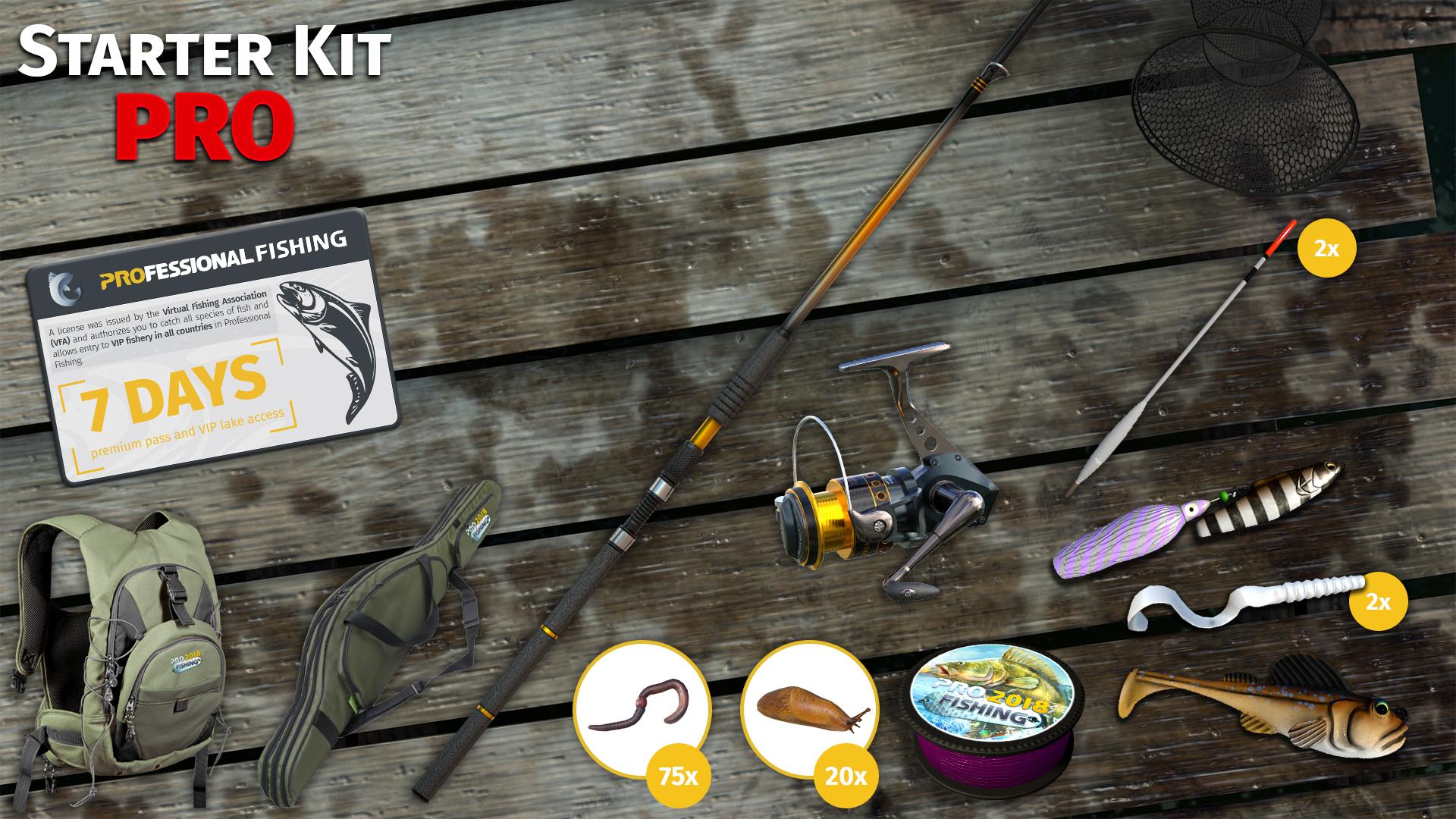KHAiHOM.com - Professional Fishing: Starter Kit Pro
