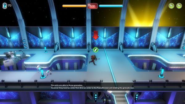 Скриншот №2 к Alien Hallway