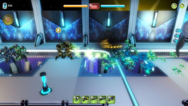 Скриншот №5 к Alien Hallway