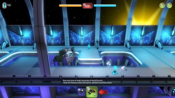 Скриншот №1 к Alien Hallway