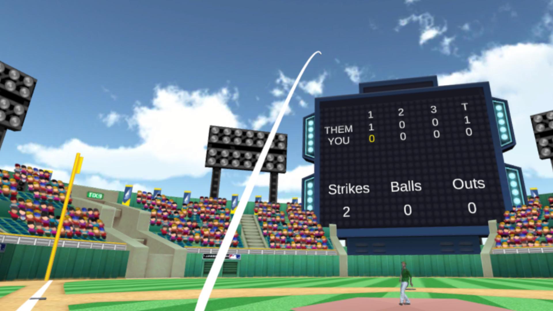 Oculus Quest 游戏《Home Plate Baseball》本垒板棒球插图