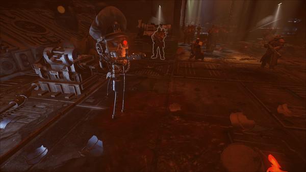 Скриншот №1 к Warhammer 40000 Inquisitor - Martyr - Servo Commissar-skull