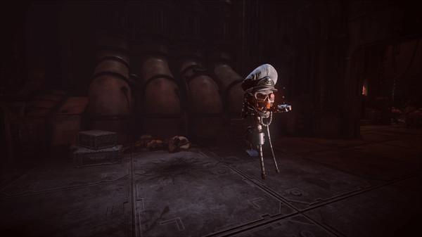 Скриншот №2 к Warhammer 40000 Inquisitor - Martyr - Servo Commissar-skull