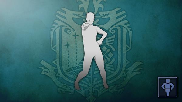 Скриншот №1 к Monster Hunter World - Жест Танец поп-звезды