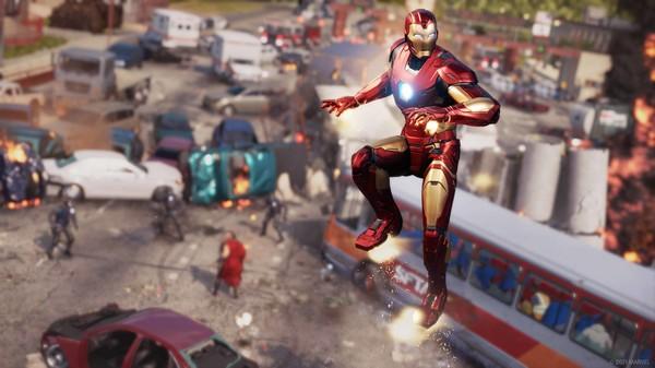 Скриншот №10 к Marvels Avengers