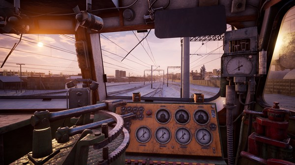 Скриншот №1 к Trans-Siberian Railway Simulator