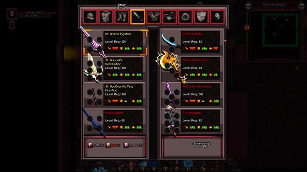 Скриншот №1 к Hero Siege - Extra slots  stash space