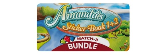Amanda´s Stickerbook 1+2