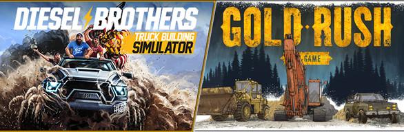Discovery TV Series Simulators (Gold Rush + Diesel Brothers)