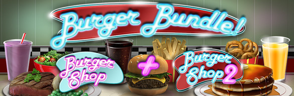 Burger Shop 1 & 2 Bundle!