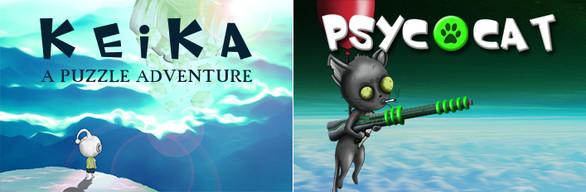 BUNDLE : KEIKA - A Puzzle Adventure + PsycoCat