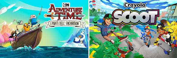 Adventure Time Pirates of the Enchiridion - Crayola Scoot Bundle