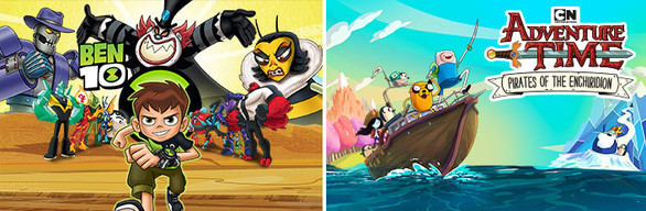 Ben 10 and Adventure Time: Pirates of the Enchiridion