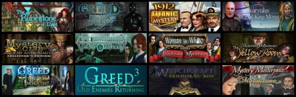 Hidden Object Premium Bundle 15-in-1