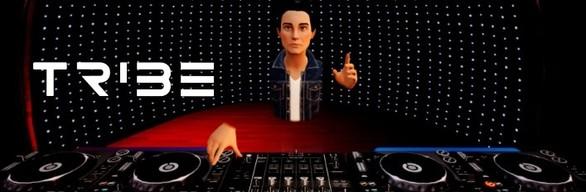 Tribe XR DJ School - Deluxe 4 decks, Streamer Edition