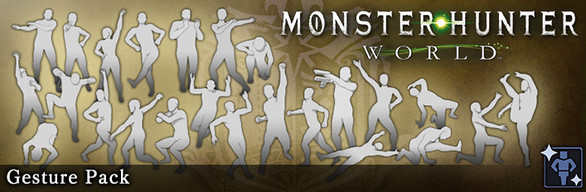 Monster Hunter: World - Gesture Pack