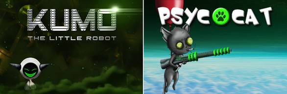 BUNDLE : KUMO The Little Robot + PsycoCat