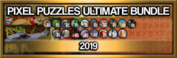 Pixel Puzzles Ultimate Jigsaw Bundle: 2019