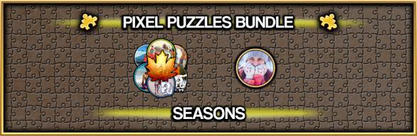 Pixel Puzzles Jigsaw Bundle: Seasons