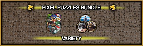 Pixel Puzzles Jigsaw Bundle: Variety