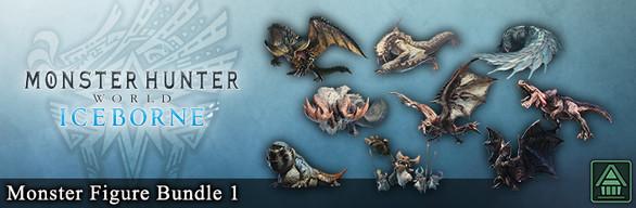 Monster Hunter World: Iceborne - Monster Figure Bundle 1