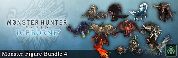 Monster Hunter World: Iceborne - Monster Figure Bundle 4