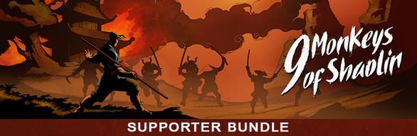 9 Monkeys of Shaolin - Supporter Bundle