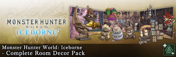 MHW:I - Complete Room Decor Pack
