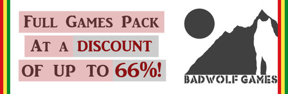 Special offer! BadWolf Games Full Pack