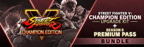 Street Fighter V: Champion Edition Upgrade Kit + Season 5 Premium Pass Bundle