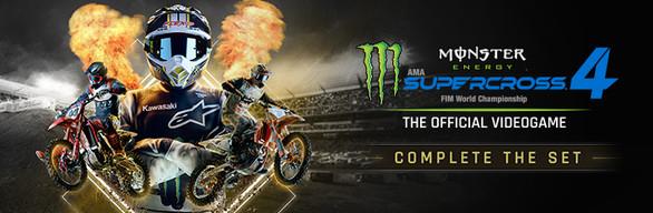 Monster Energy Supercross 4 - Complete the Set