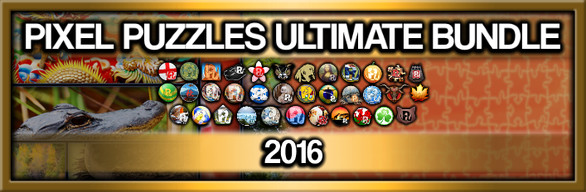 Pixel Puzzles Ultimate Jigsaw Bundle: 2016