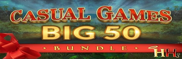 BIG 50 CASUAL GAMES BUNDLE