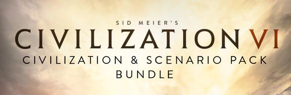 Civilization VI – Civilization & Scenario Pack Bundle