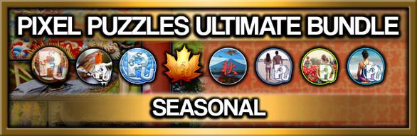 Pixel Puzzles Ultimate Jigsaw Bundle: Seasonal