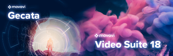 Movavi Video Suite 18 + Gecata by Movavi 5 - Game Recorder