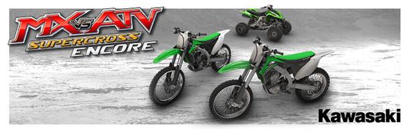 MX vs. ATV Supercross Encore - Kawasaki DLC Pack