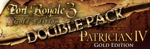 Port Royale 3 Gold and Patrician IV Gold - Double Pack