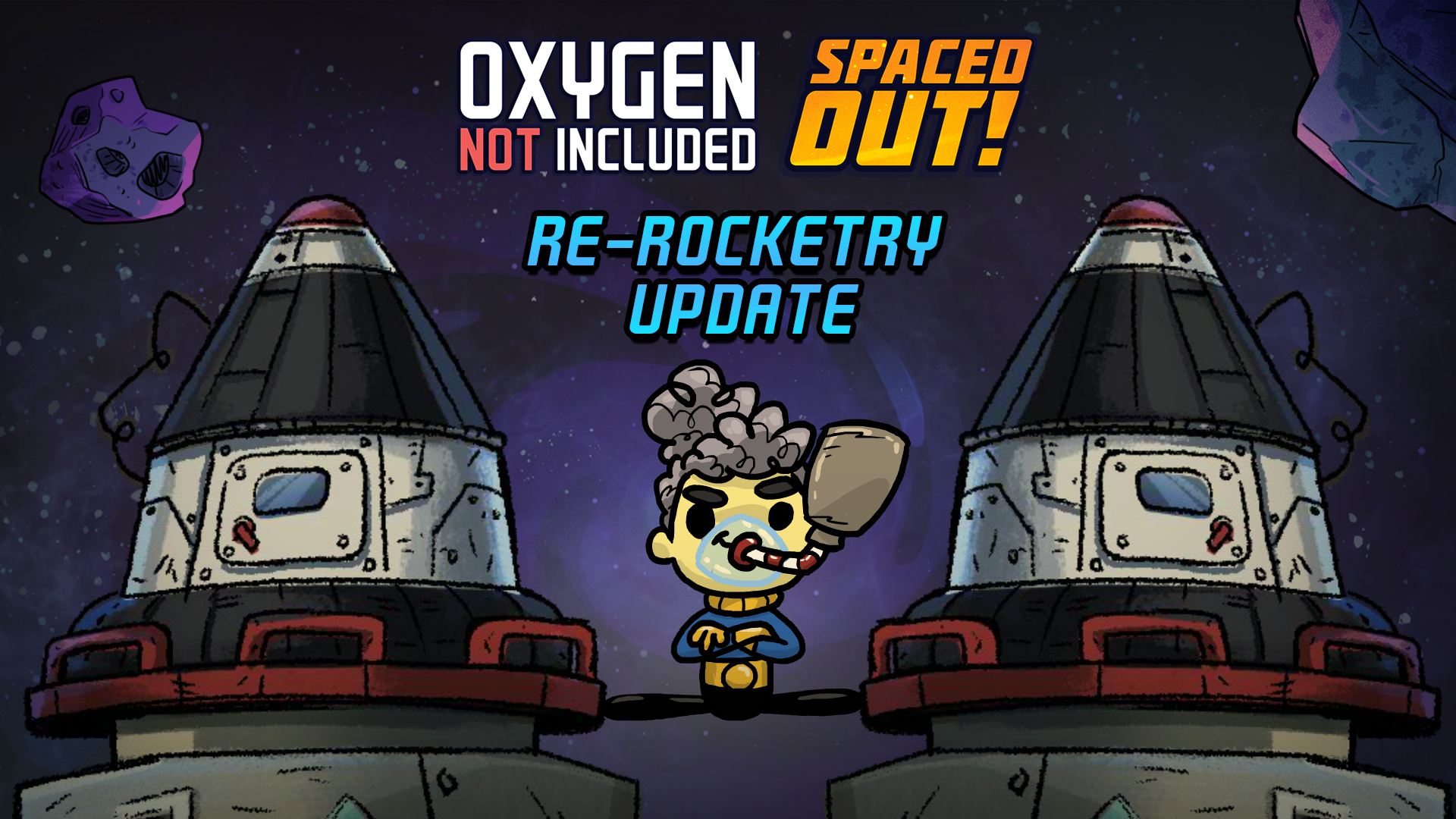 Oxygen Not Included Oxygen Not Included Spaced Out Re Rocketry Update Is Live Steam News