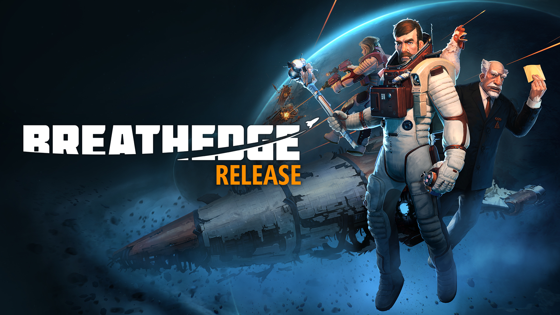 Breathedge - The Release! - Steam News