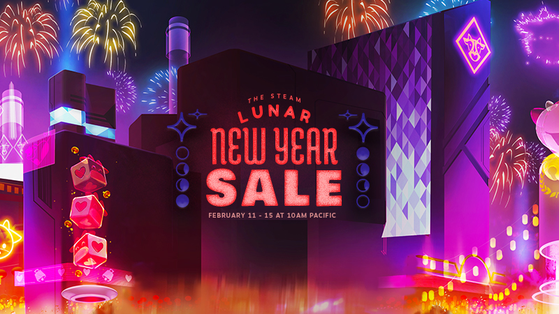 The Steam Lunar New Year Sale!