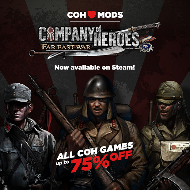 Company Of Heroes 2 Far East War Mod Releases Up To 75 On Coh Games Steam News