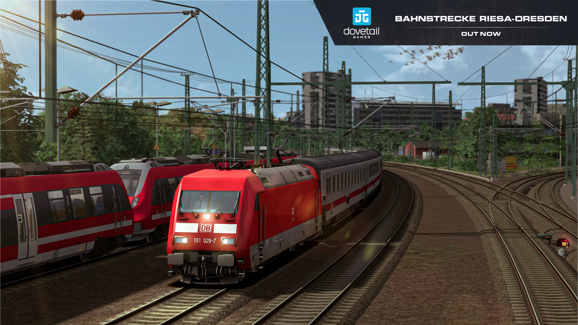 Bahnstrecke Riesa - Dresden | Out Now!